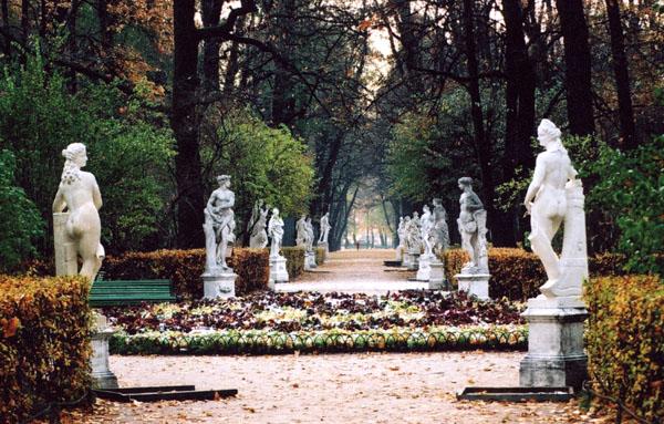 jardin d'été Saint-Pétersbourg